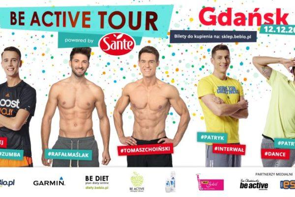 Be Active Tour Powered by Sante Ewa Chodakowska 12.12.2015 Gdańsk