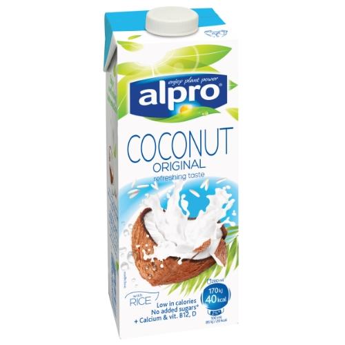 Alpro napój kokosowy z dodatkiem ryżu naturalny 1 litr