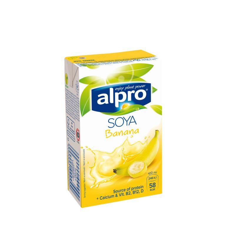 Alpro napój sojowy bananowy 250 ml