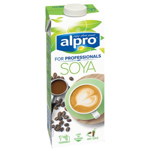 Alpro napój sojowy naturalny do kawy 1 litr