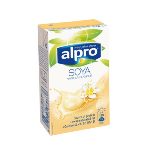 Alpro Napój Sojowy Waniliowy 250 ml