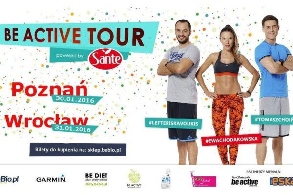 Be Active Tour Powered by Sante Ewa Chodakowska