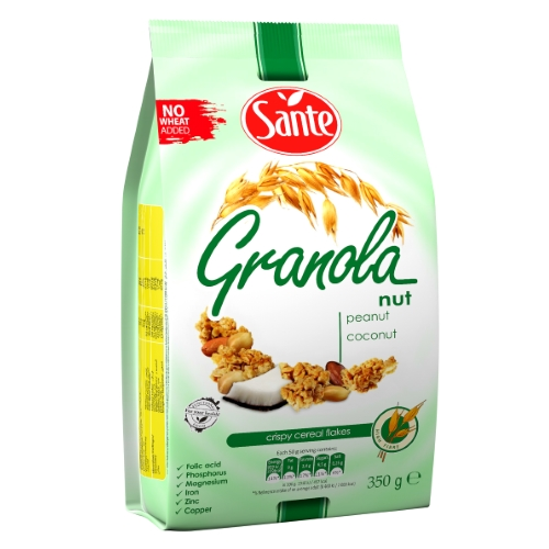 Granola orzechowa 350g