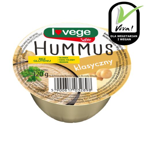 Hummus klasyczny 120g