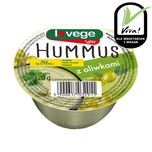 Hummus z oliwkami 120g