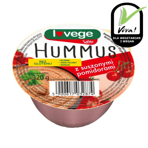 Hummus z suszonymi pomidorami 120g