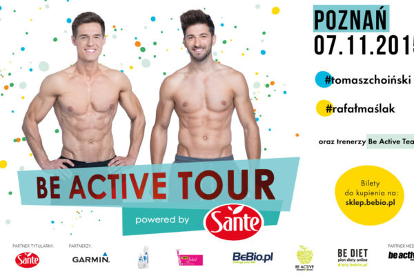 Be Active Tour Powered by Sante Ewa Chodakowska 7.11.2015 Poznań