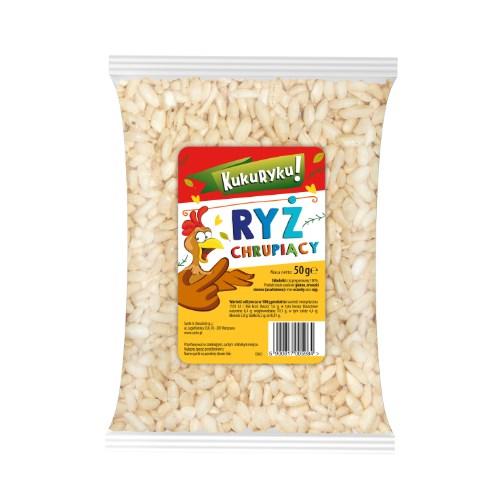 Ryż chrupiący naturalny 50g