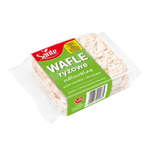 Wafle ryżowe naturalne 110g