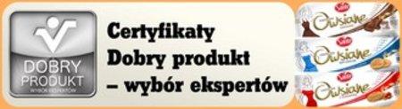 Ciasteczka Owsiane wyróżnione Certyfikatem Dobry Produkt