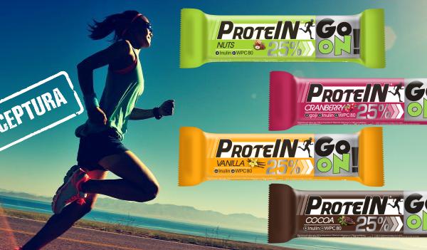 Baton proteinowy GO ON Sante – nowa lepsza receptura!