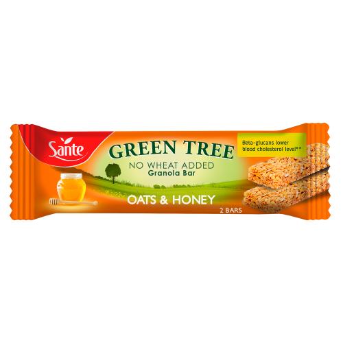 Baton granola GREEN TREE z miodem 40g