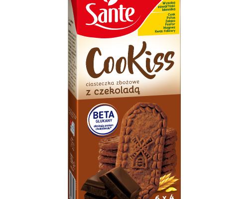 Ciasteczka śniadaniowe Cookiss z czekoladą 300g