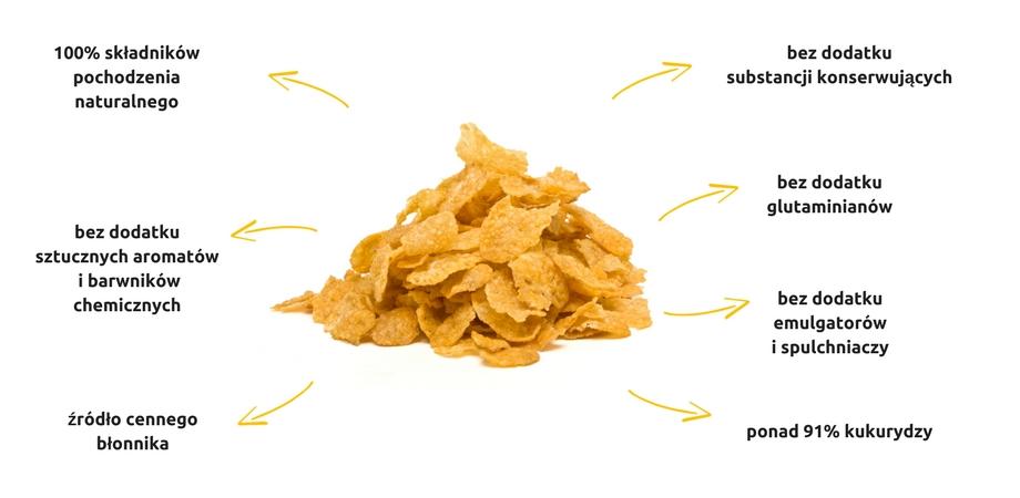 Dlaczego warto wybrać płatki kukurydziane Sante?