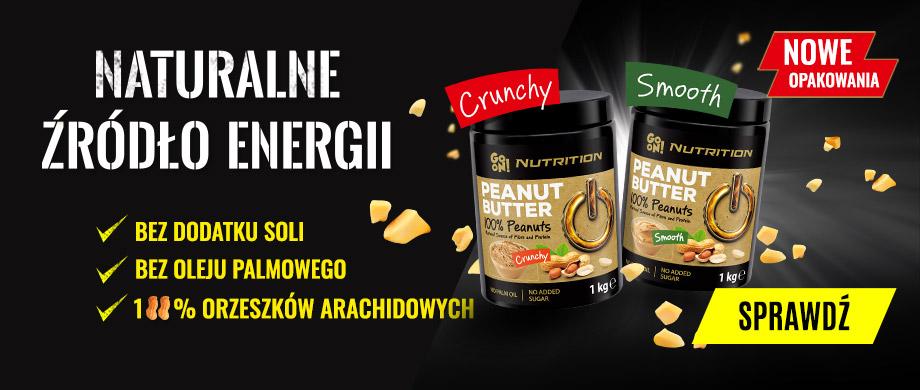 Masło orzechowe GO ON Nutrition