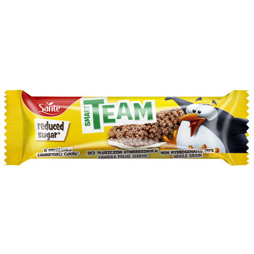 Baton zbożowy śniadaniowe kuleczki kakaowe śniadaniowe kuleczki kakaowe Smart Team 25g