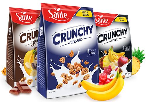 Crunchy Sante 350g