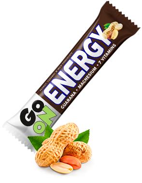 Baton energetyczny GO ON orzechowo-karmelowy 50g