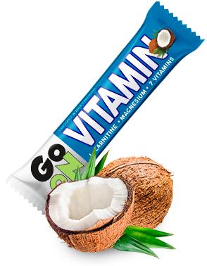 Baton energetyczny GO ON Vitamin kokosowy 50g